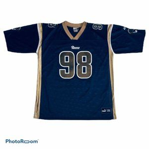Grant Wistrom Men's 2XL Puma Football Rams Jersey